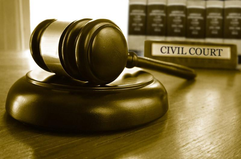 Civil case result for client